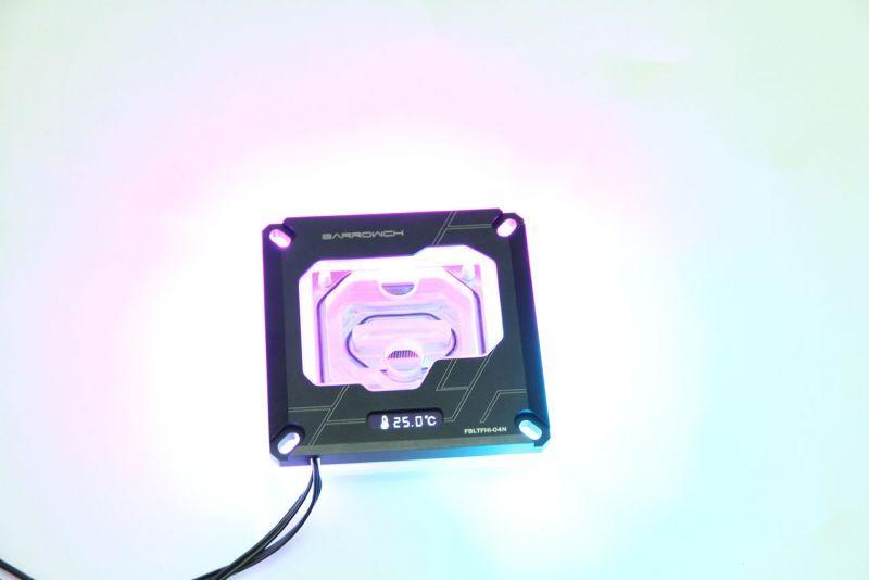Barrowch INTEL 115X / X99 / X299平台數顯水冷頭