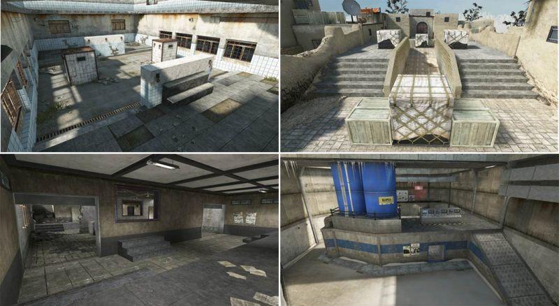 「死鬥擂台」模式中,將現有的四張地圖重新設計成適合兩人決鬥的迷你版地圖。.jpg.jpg
