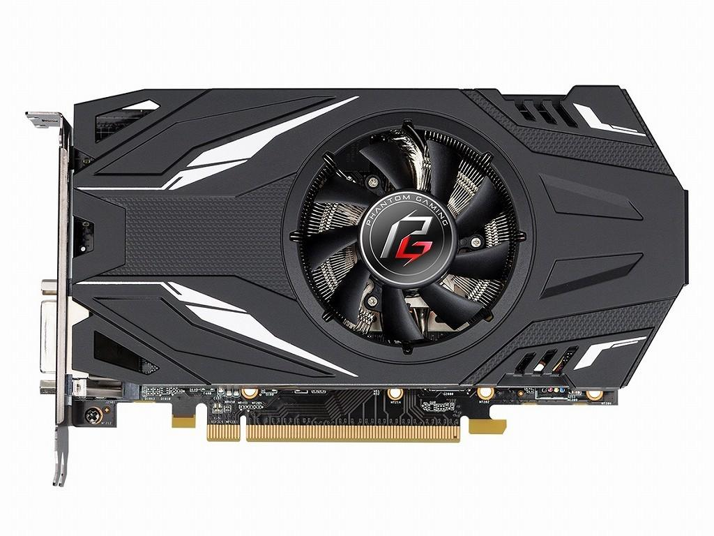 小型單風扇、DVI單路輸出:ASRock Phantom Gaming M1 Radeon RX570 8G/4GB 非公顯示卡 - XFastest - Phantom_Gaming_M1_RX570_8G_1024x768c-1024x768.jpg