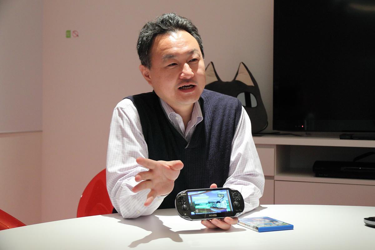 sce 全球工作室总裁吉田修平专访 畅谈 ps vita 功能特色与