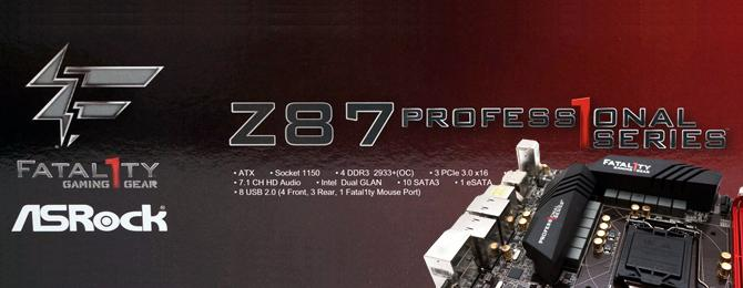 ASRock  Fatal1ty Z87 Professional 主機板 - XFastest - ASRock  Fatal1ty Z87 Professional