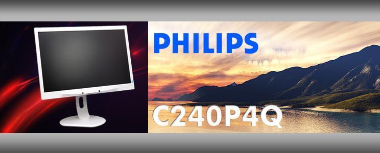 [XF]24吋專業醫療螢幕PHILIPS C240P4QPYEW 純白外型 灰階顯像出色