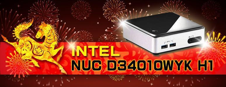 [XF] NUC升級補完 迷你精巧外型 能效不容忽視 Intel NUC D34010WYKH 裝機實測