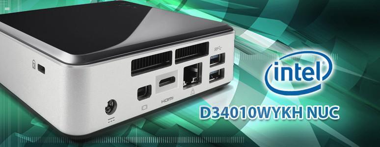 [XF]迷你身軀、高效性能 – INTEL D34010WYKH NUC系統開箱評測!!