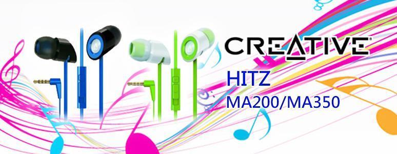 [XF] 平價免持耳機新選擇 創新未來Creative HITZ MA200/MA350耳道式耳機