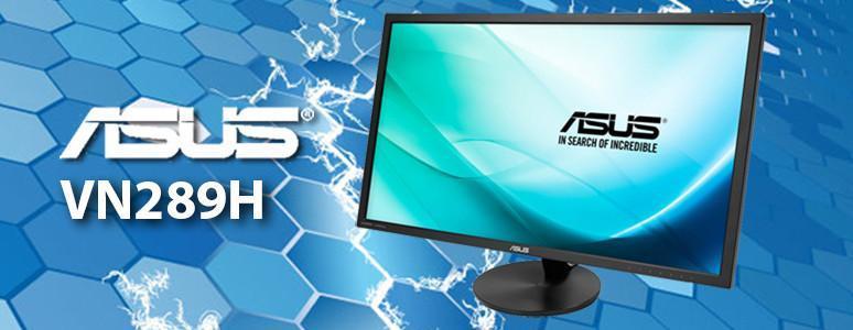 [XF] 不閃屏、低藍光的大尺寸LED螢幕 - 華碩VN289H LED顯示器評測