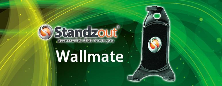 [XF] 平板利器,全家都適用的平板架 Standzout Wallmate通用型平板托架!!!