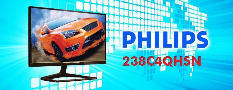 設計掛保證的Philips 238C4QHSN螢幕,好看又好用