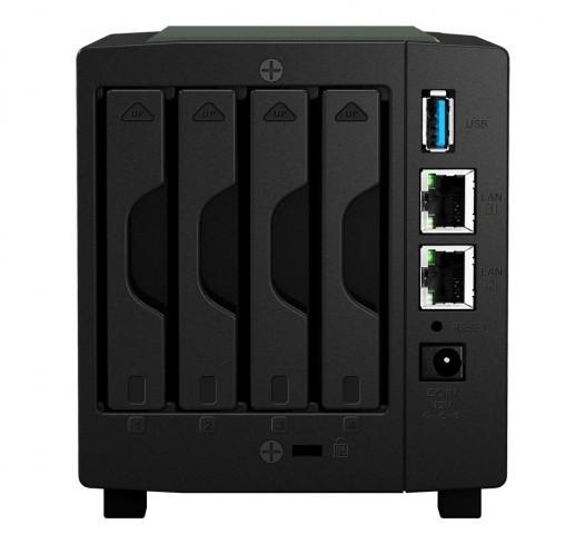 群暉發佈DS414slim網路記憶體 支援4個硬碟6TB容量