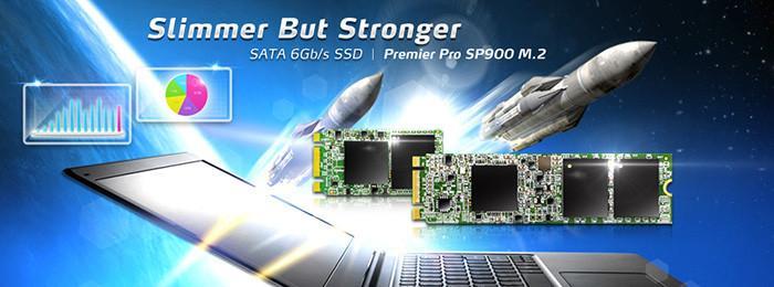 威剛發布SP910與SP900 M.2固態硬碟