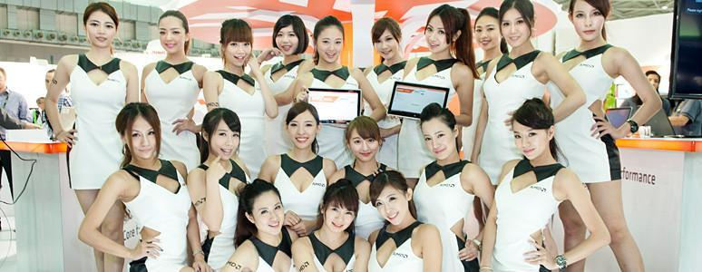 Computex 2014 最豐富的展場麻豆美圖,XFastest為您親臨現場第一手直擊!!