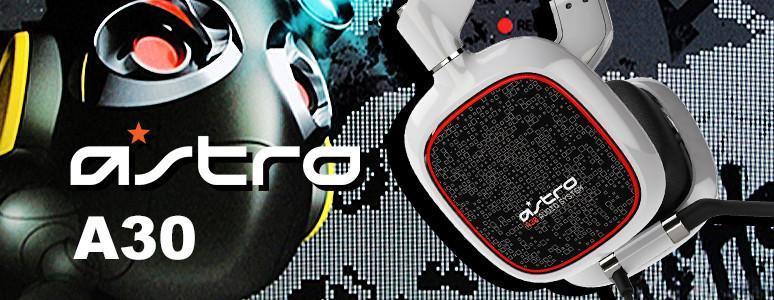 Astro A30 電競耳機 玩遊戲的最佳良伴