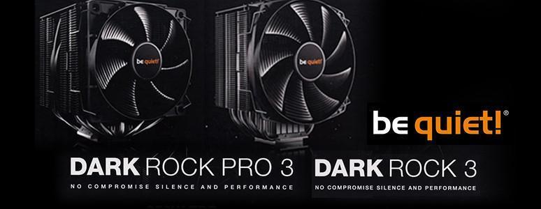 [XF] 靜寂黑 酷冷型 be quiet! Dark Rock 3&Dark Rock Pro 3 散熱器評測