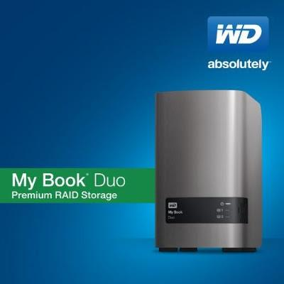 WD推直連式存放裝置My Book Duo