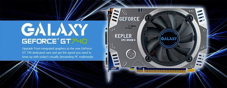 [XF]影馳 Galaxy GT740 GC(OC) 1GB基本效能評測