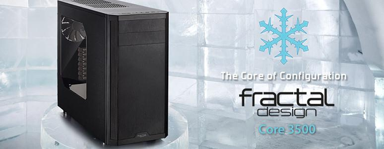 [XF]質感系機殼 Fractal Design Core 3500評測:實用至上,低調酷黑