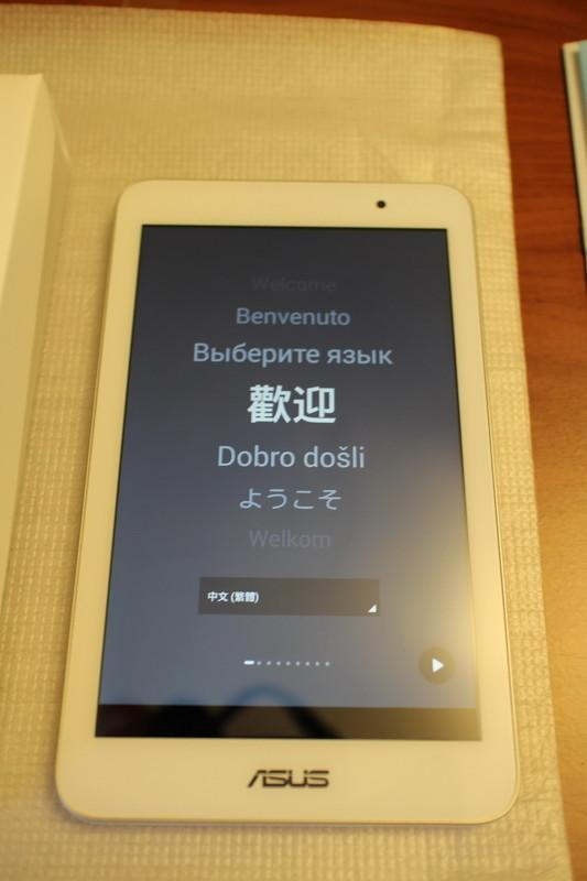 [開箱] ASUS 搭載 ZenUI 馬卡龍7吋新平板 ME176C