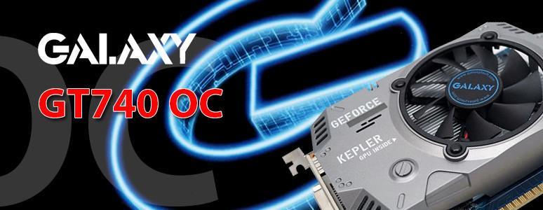 [XF] 充實7系列產品線 Kepler再展重生身價 GALAXY GeForce GT 740OC 1G 評測