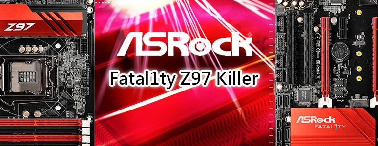 [XF]世界冠軍高手加持~低溫高效ASRock Fatal1ty Z97X Killer裝機心得分享