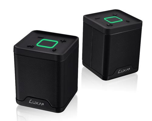 LUXA2納爾莎Groovy Duo酷韻雙聲道立體聲無線藍芽喇叭及 LUXA2音源APP