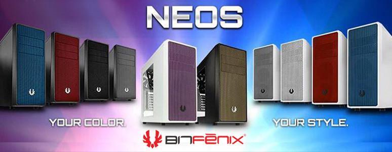 [XF] BitFenix Neos 10款配色一次到位 亮眼搶市!側透版本黑金款開箱介紹