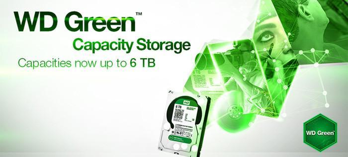 WD綠碟也升級5TB/6TB了,售價並不便宜