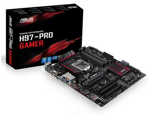 華碩推出全新電競專用ATX規格主機板H97-Pro Gamer