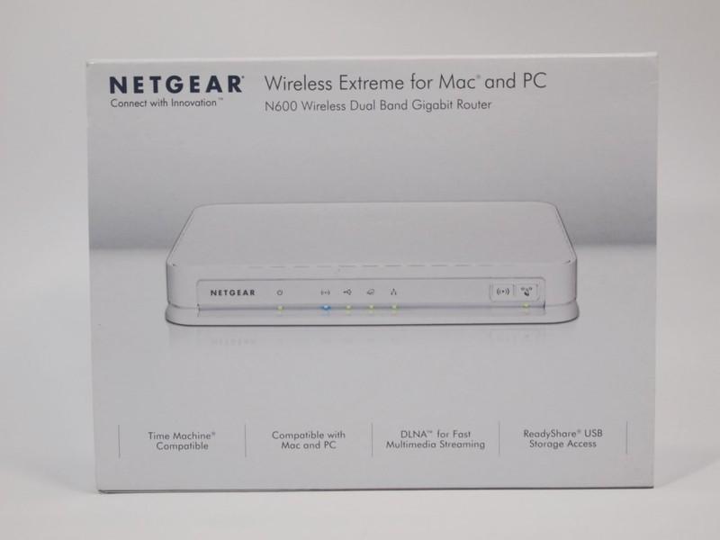 [XF]免電腦精靈設定,無腦族、外貌協會與蘋果族優選,NETGEAR N600 WNDRMAC v2雙頻無線路由器!