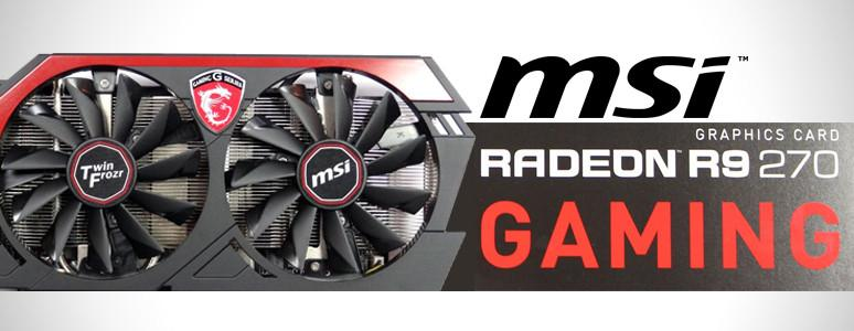 [XF]MSI R9 270 Gaming 2GB也能玩Watch dog開箱測試