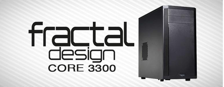 [XF]Fractal Design Core 3300,設計簡潔,物美價廉又好裝的ATX機殼