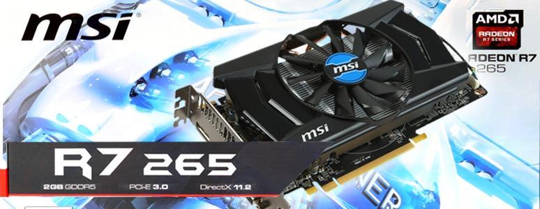 [XF] 中階性能選 MSI Radeon R7 265 2GD5 OC
