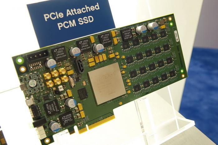 HGST展示PCM技術SSD:300萬IOPS,延遲低至1.5微秒