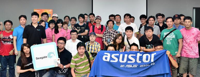 「希手建芸」ASUSTOR & Seagate 產品研討會活動現場報導