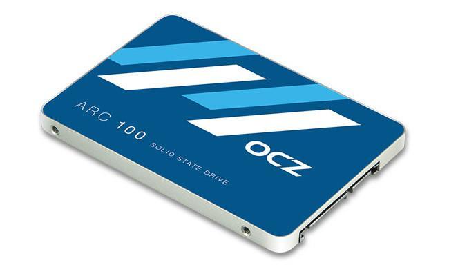 OCZ發布入門SSD ARC 100:自家控制器+東芝MLC,連續讀取490MB/s