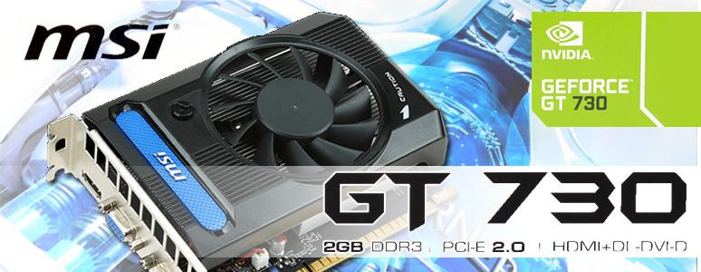 [XF] 入門裝機新選擇 MSI GT 730 2GB DDR3 開箱測試