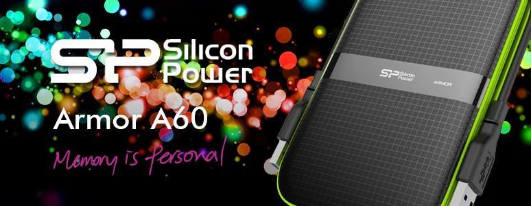 [XF]Silicon Power廣穎電通Armor A60軍規耐震防潑水外接式硬碟開箱體驗心得