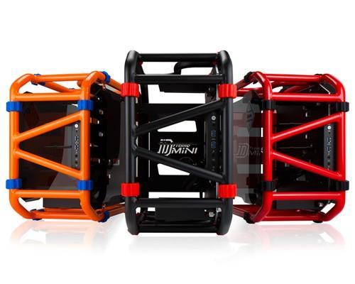 獨領前衛風潮 迎廣輕量化鋁管電競機殼 - D-Frame mini