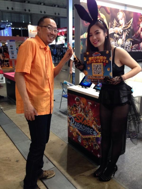 《炫轉樂園Slots Paradise》東京電玩展發現兔女郎!
