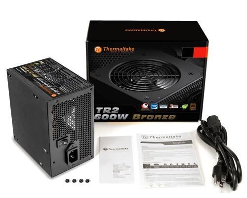 全新曜越TR2 80 PLUS銅牌認證電源供應器系列 電源‧散熱‧靜音三效合一