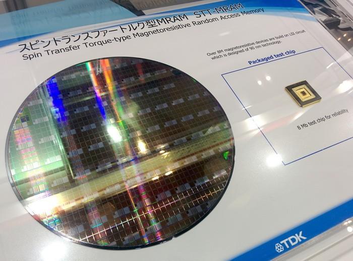 比快閃記憶體快7倍,TDK首次演示MRAM儲存器原型