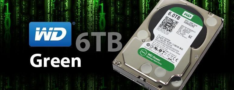 [XF]WD Green 6TB上市!速度容量再提升!