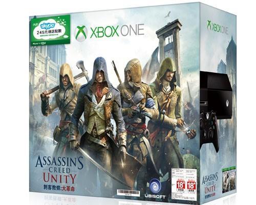 「Xbox One刺客教條經典組」同捆主機即將於11/1在台上市
