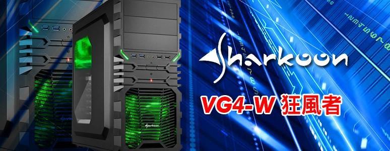 [XF]Sharkoon VG4-W 狂風者--雙12公分發光大風扇超酷炫!!