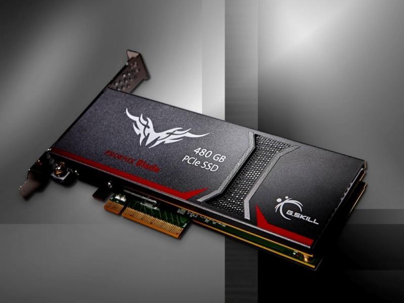 """芝奇推出""""鳳凰之刃""""PCI-E硬盤:480GB容量,2GB/s讀寫"""