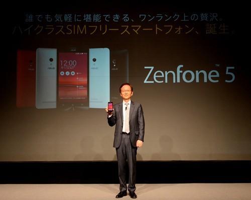 華碩今日由董事長施崇棠領銜,於日本東京舉行「Unlock The Future」發表會