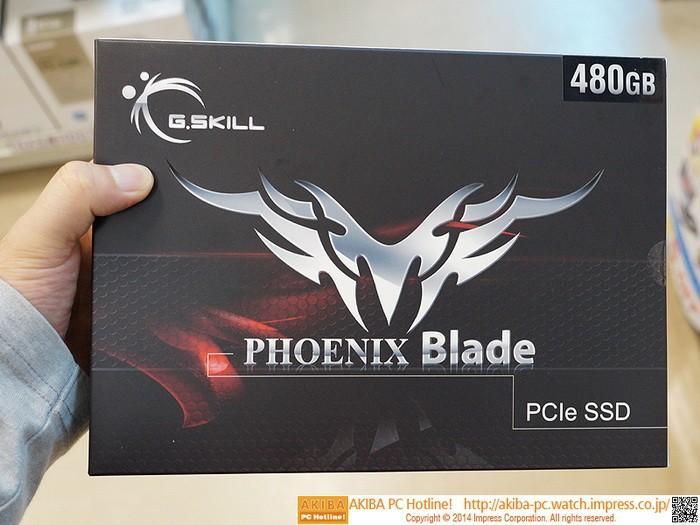 """芝奇最強480GB PCI-E硬碟開賣,2GB/s性能""""只要""""約25000台幣"""