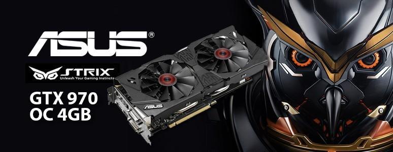 [XF] 寂靜高效能,超頻再超頻 - ASUS Strix GTX 970 OC 4GB顯示卡