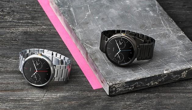 金屬錶帶版 Moto 360 上市,香檳金版和窄金屬錶帶版即將到來