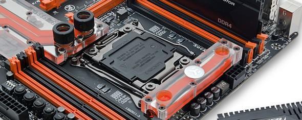 EKWB推出專為技嘉X99主機板量身訂做的水冷套件