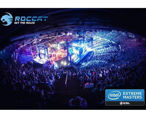ROCCAT 加入電競大賽 Intel Extreme Masters,成為主要活動贊助商